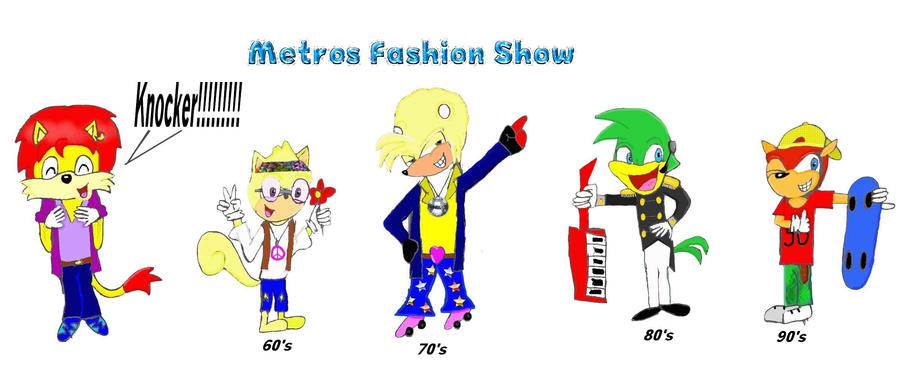 Metro 39 S Knocker Fashion Show By Crazystyle1 On Deviantart
