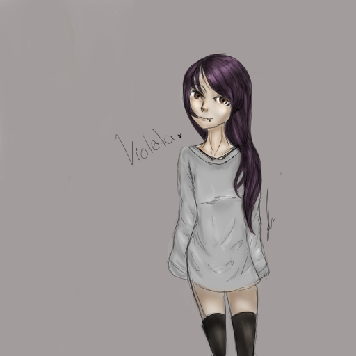 Violeta. by Deidara-Sam