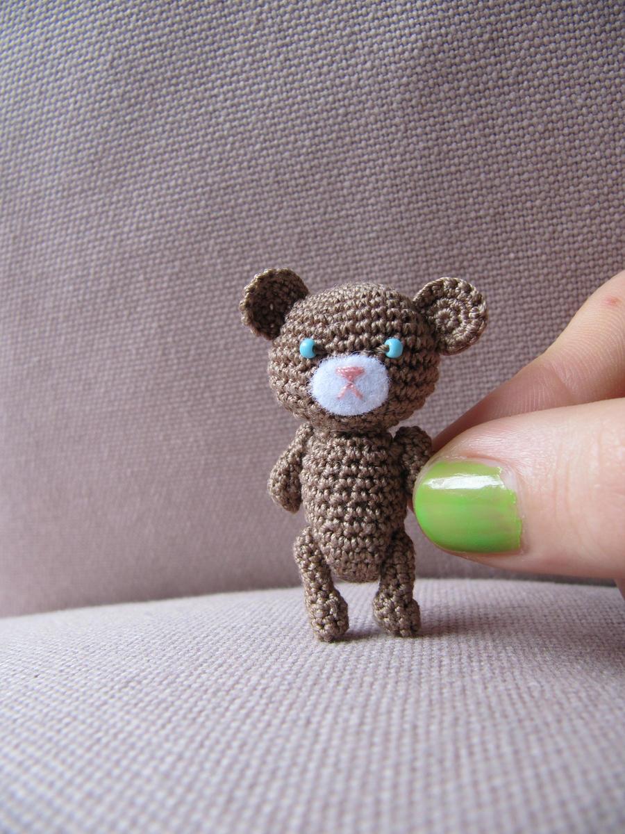 Amigurumi Little Bear : Amigurumi little bear by giuggiu on DeviantArt