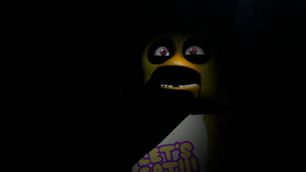 When Chica gets her pizza by myszka11o