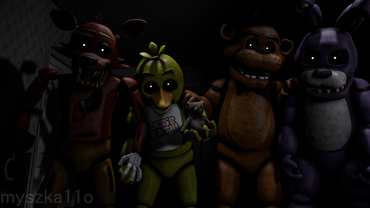 These Are My Friends Sfm Wallpaper By Myszka11o On