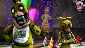 We are basically the same! - Withered Chica (SFM)