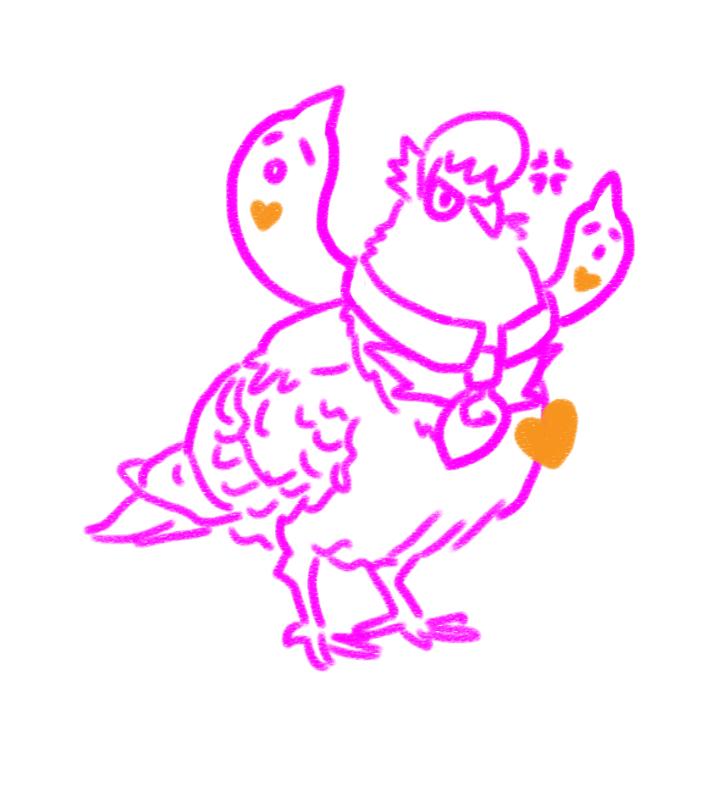Pidgeonlewis by EchoTseng
