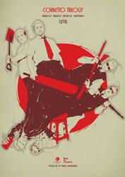 Cornetto Trilogy alternative movie poster art by harijz