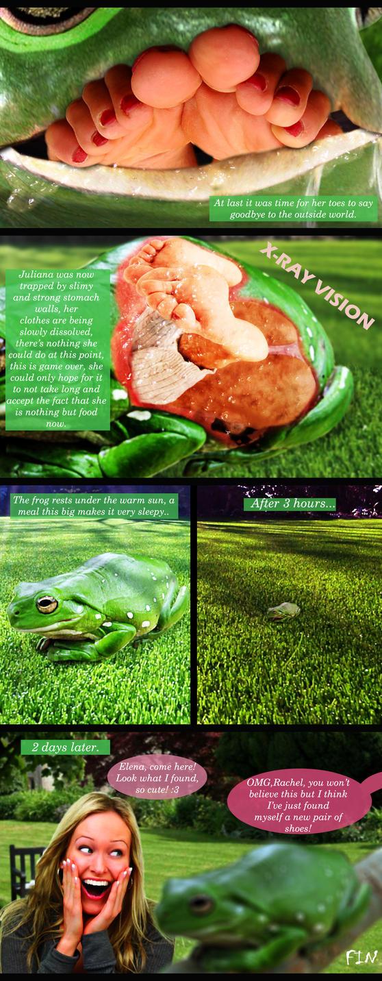 Nude frog vore xxx pictures
