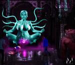 Kali's Lustful Vortex by MightyMorphian