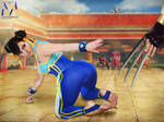 The Fall of Chun-Li by MightyMorphian
