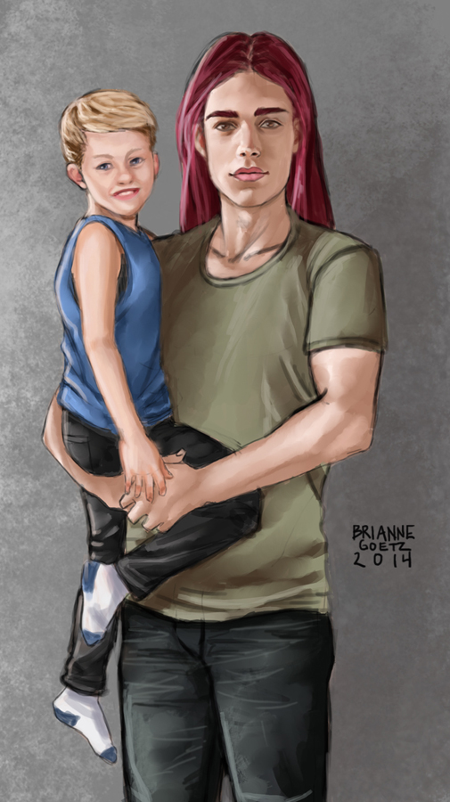 Balthial and Ezra by brianne333