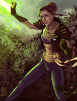 Inquisitor Anonna Lavellan by brianne333