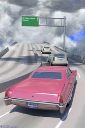 Freeway of Heaven by deepred6502