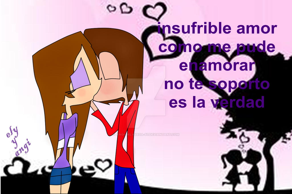 Insufrible Amor A Color By Angi Delavega 97 On Deviantart