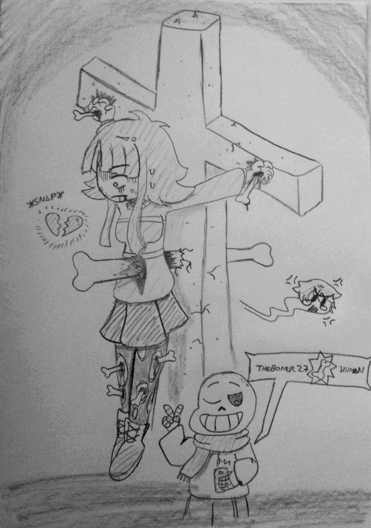 I'm supposed to be playing the genocide route... by GreatAgreement
