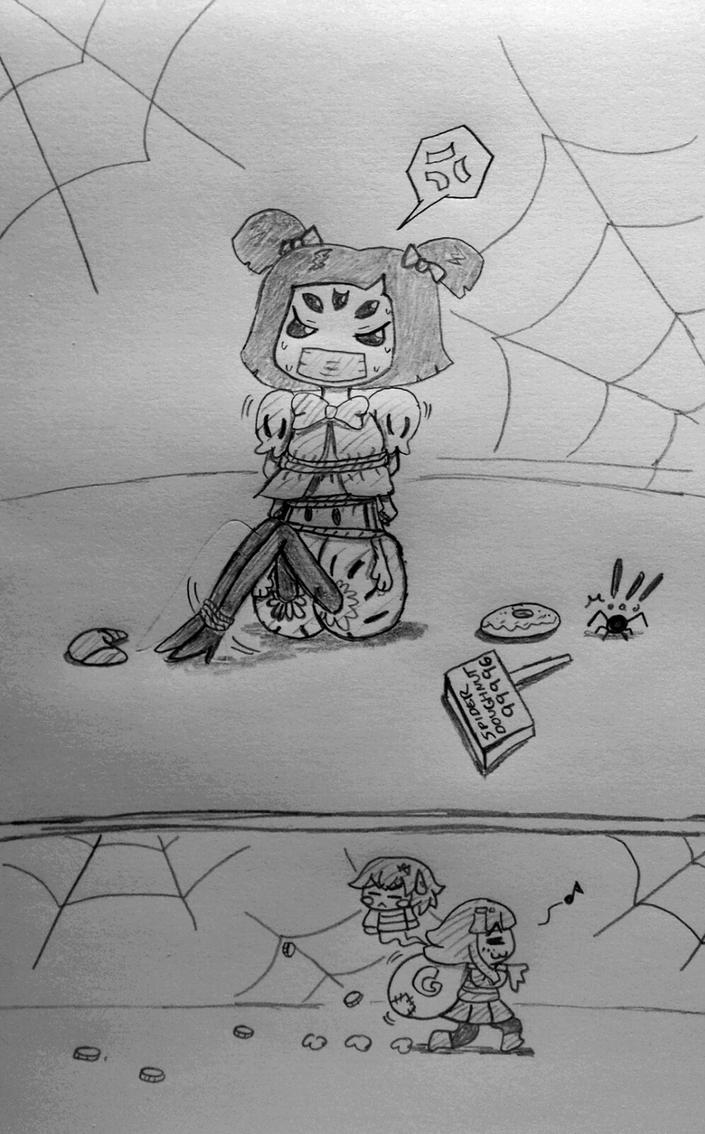 Muffet got robbed. by GreatAgreement