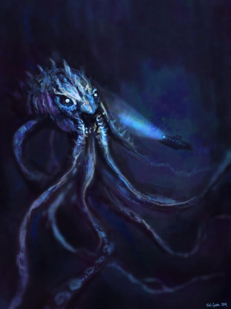 The Pale Kraken by sur-mata