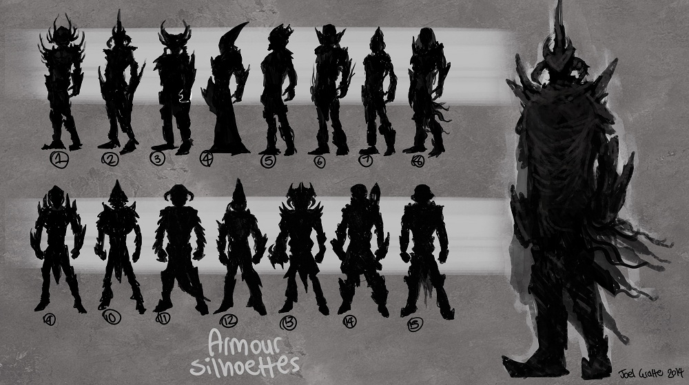 Crab Guy - Silhouettes by sur-mata