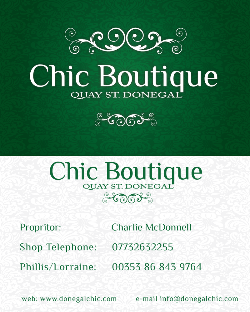 chic boutique business card by emfdesign - Boutique Business Cards