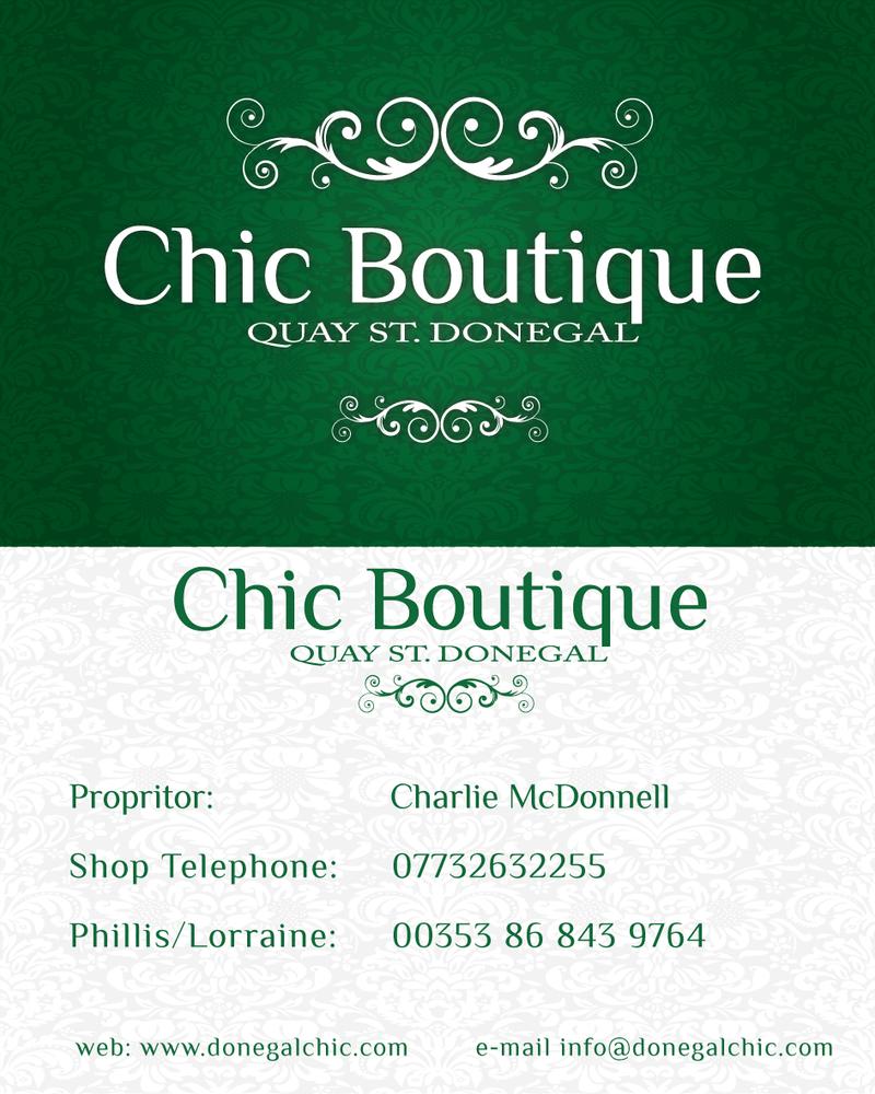 Chic Boutique Business Card by emfdesign on DeviantArt