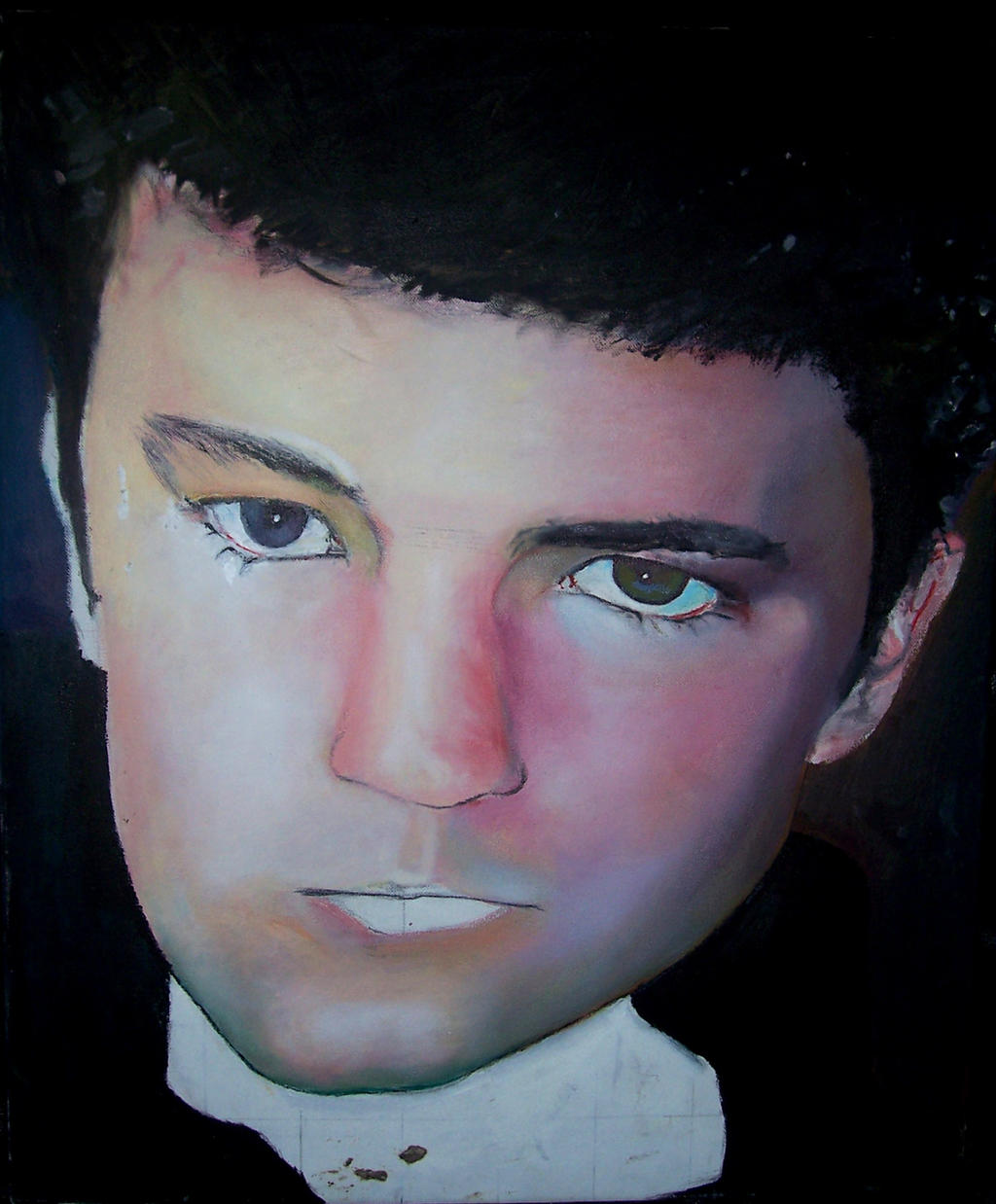 Unfinished Self Portrait by pleasenojunkthanks