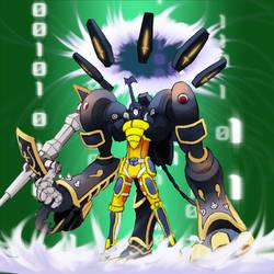 Digimon Frontier Tuned - IonScarabmon