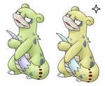 Slowmane (Slowbro evolution)