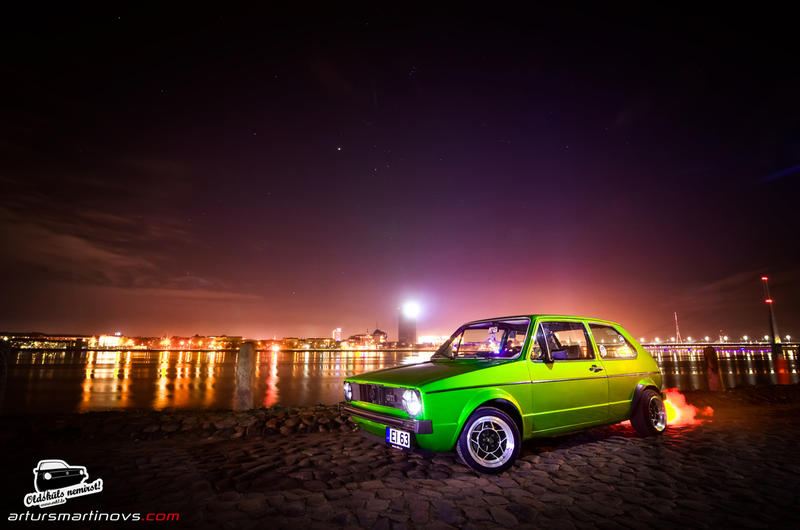 VW Golf MK1 by Hawkcore