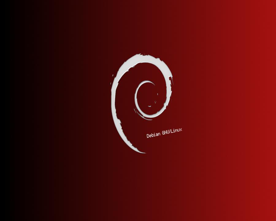 Debian Black and Red HD Wallpaper > Debian Wallpaper 1280 x 1024