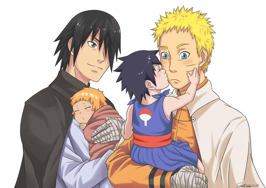 Family and Children on SasuNaru-NaruSasu - DeviantArt