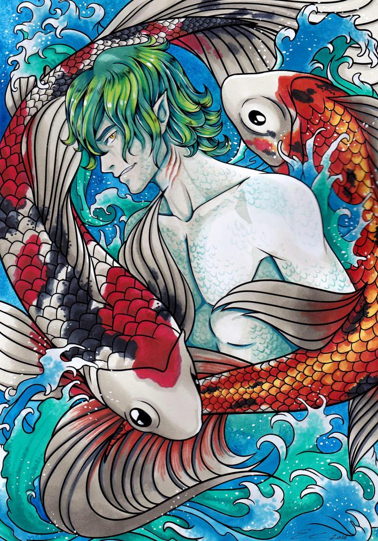 Pretty Boys Under the Sea by Satosanteru