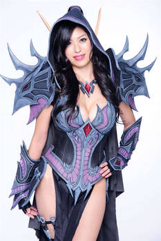 Joleera Blood Elf Rogue WoW Cosplay G4