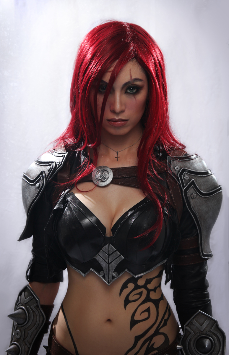 Katarina Cosplay - A New Dawn Cinematic Version by