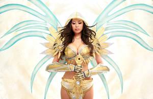 Tyrael Cosplay - BlizzCon 2011