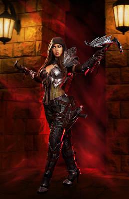 Diablo 3 Demon Hunter Cosplay - Vengeance