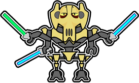 LEGO General Grievous by Jebediahs