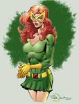 Marvel Girl in colour