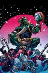 Krampus! #1 cover in colour