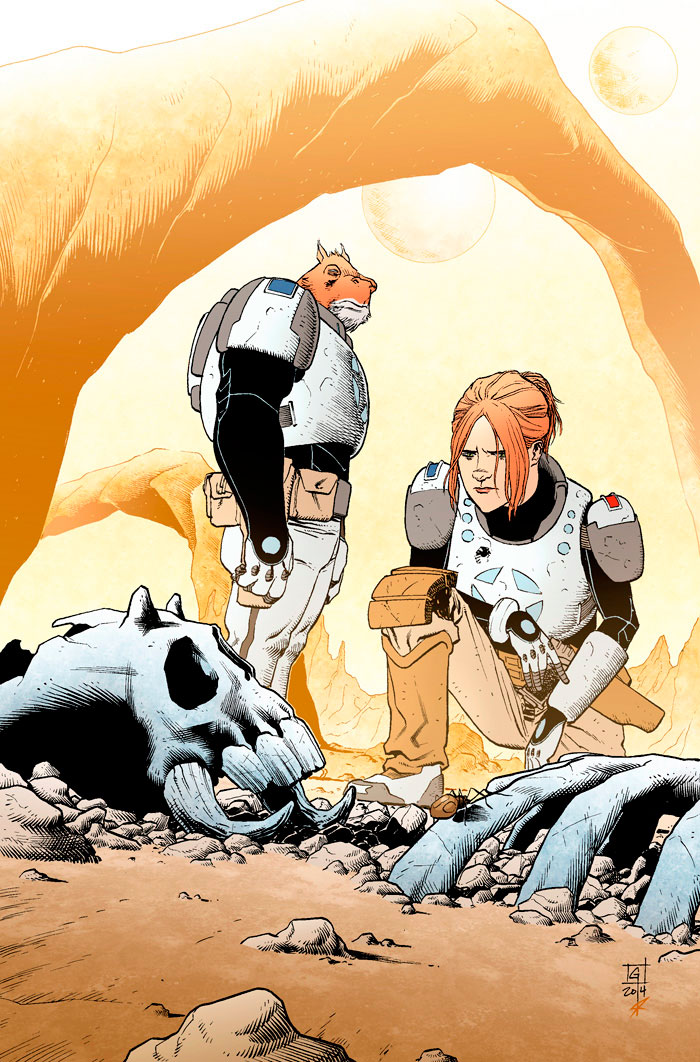 COPPERHEAD No.1 COVER by thatron