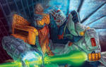 Omega Supreme versus Strike Freedom Gundam