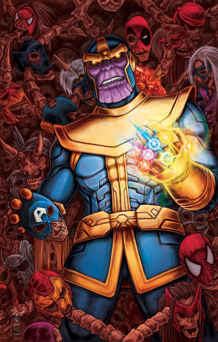 Thanos by artrobot9000