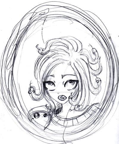 Medusa painting thumbnail by ApocalypticReignbow