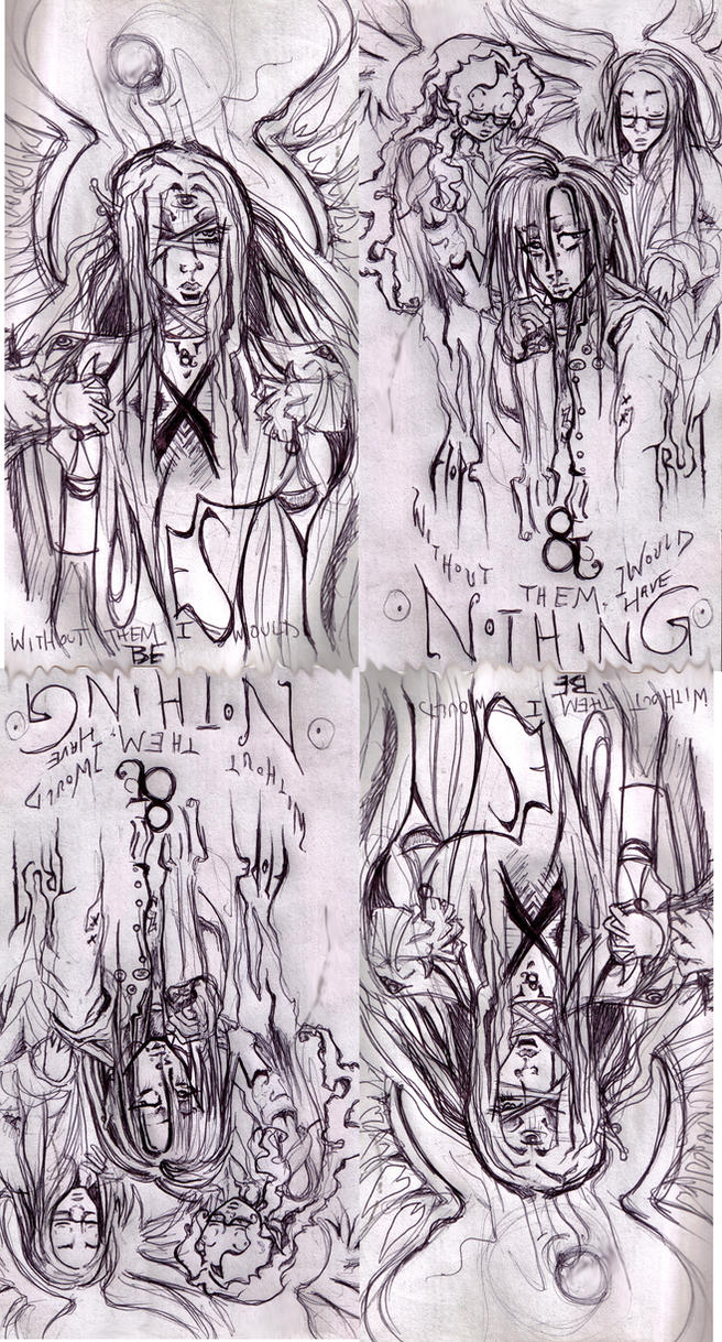 HopeNTrust w JusticeNHonesty by ApocalypticReignbow