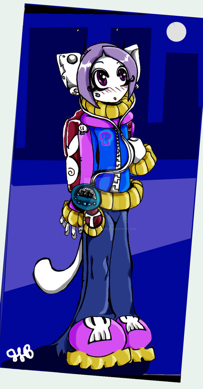 + Skull Kitty + by ApocalypticReignbow