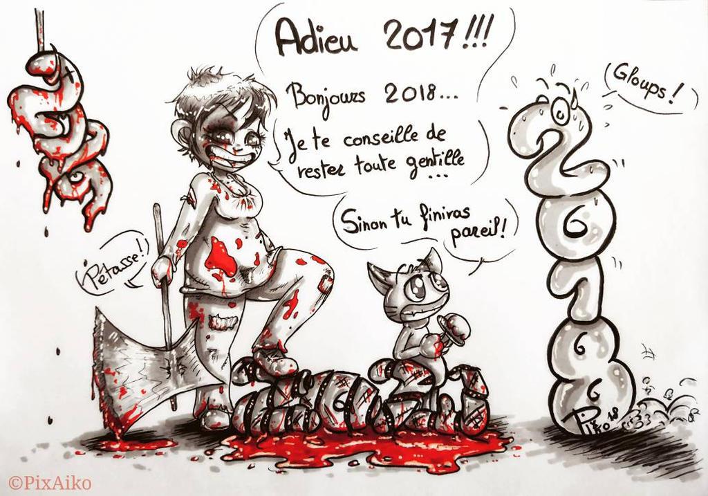 Happy New year !!! by PixAiko