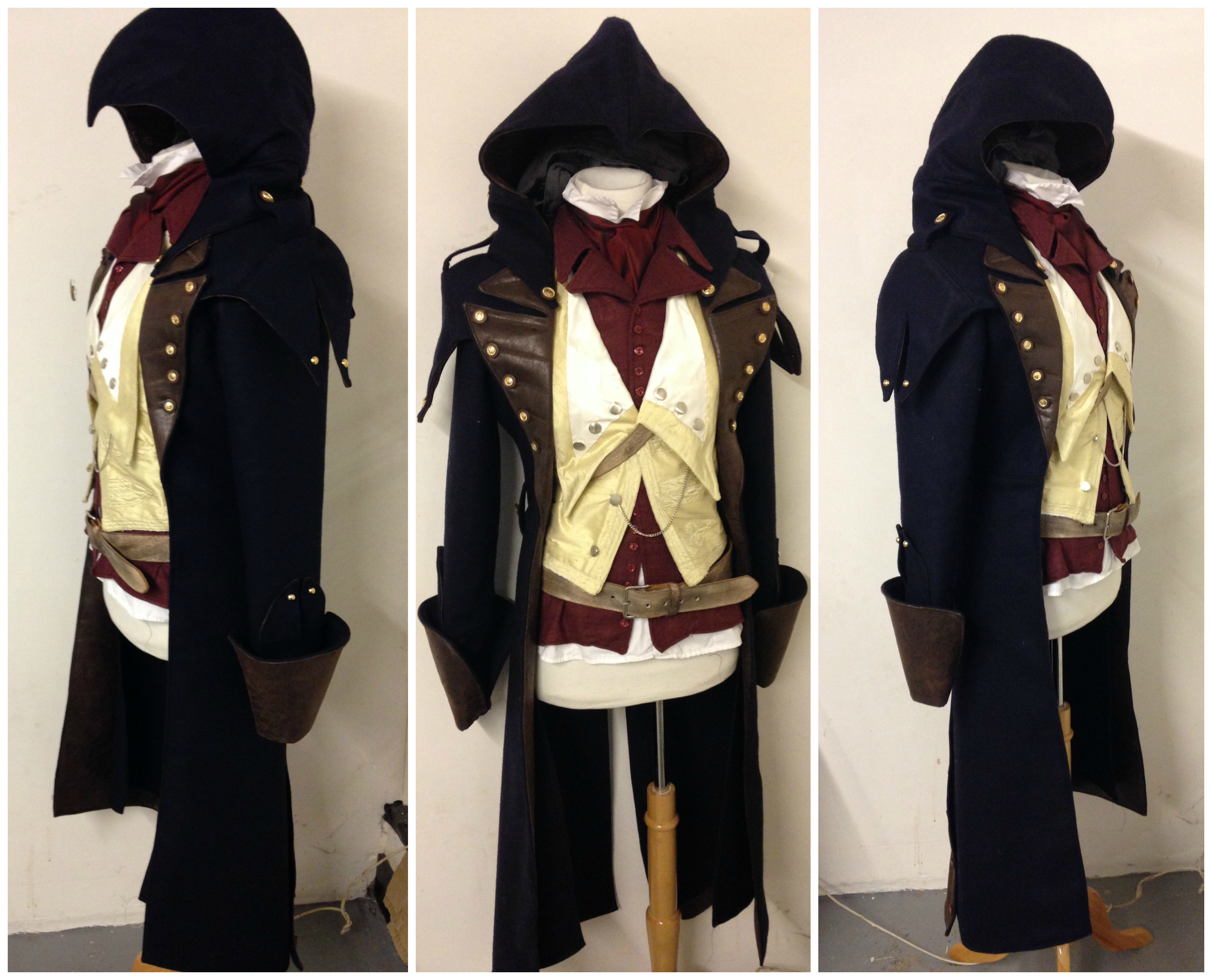 Arno Dorian Assassins Creed Costume Progress By