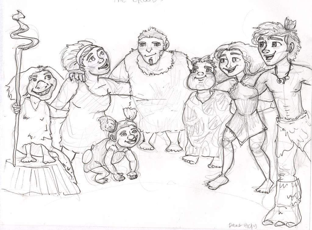 the croods eep coloring pages - photo#8