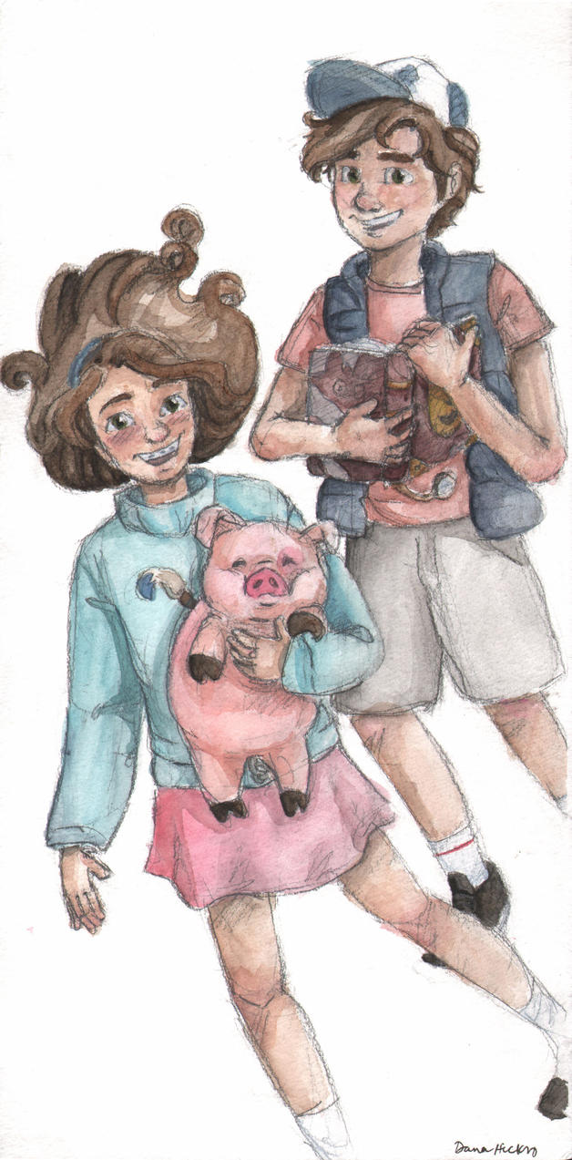 Mabel and Dipper Pines by disneylife