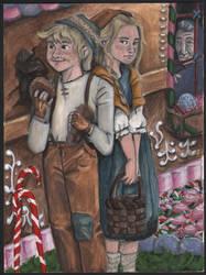 Hansel and Gretel by disneylife