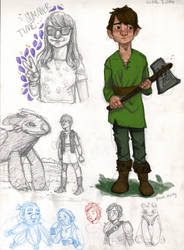 HTTYD and doodles