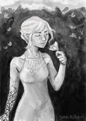 Feyre Doodle by disneylife