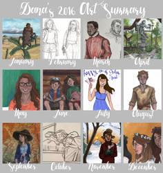 Art Summary 2016 by disneylife