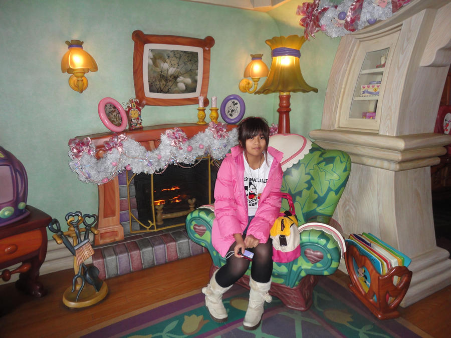 Minnie Mouse S House Inside 1 By Maidenseeker On Deviantart